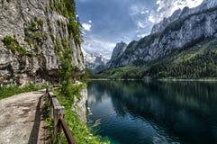 Het panorama van Oostenrijk Kaprun Royalty-vrije Stock Afbeeldingen