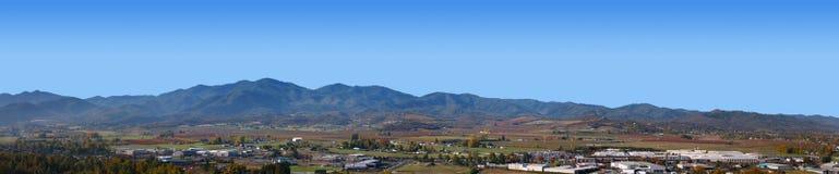 Het Panorama van Oregon van Medford Stock Afbeelding