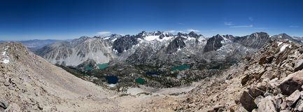 Het Panorama van palissadebergen Royalty-vrije Stock Fotografie