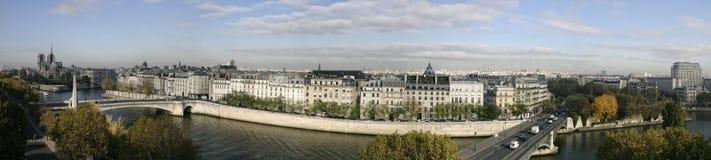 Het panorama van Parijs Royalty-vrije Stock Fotografie