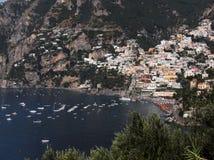 Het panorama van Positano Royalty-vrije Stock Foto