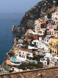 Het panorama van Positano Stock Foto