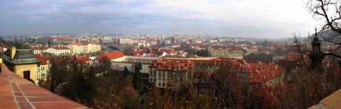 Het Panorama van Prag Stock Afbeelding