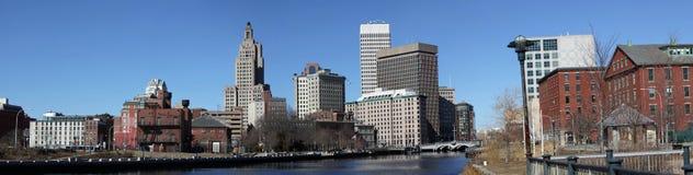 Het panorama van Rhode Island van de voorzienigheid Royalty-vrije Stock Afbeeldingen