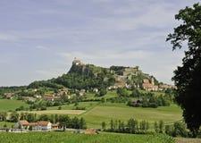 Het Panorama van Riegersburg royalty-vrije stock afbeeldingen