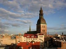 Het panorama van Riga. royalty-vrije stock foto's