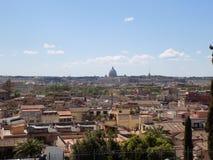 Het panorama van Rome Stock Afbeeldingen