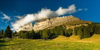 Het panorama van Rosengarten stock foto