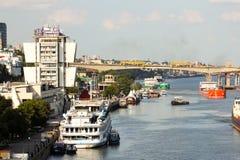 Het panorama van rostov-op-trekt aan Royalty-vrije Stock Afbeelding
