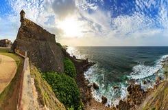 Het panorama van San Cristobal royalty-vrije stock foto's