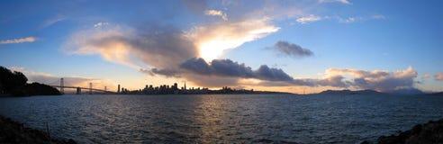 Het Panorama van San Francisco Stock Fotografie