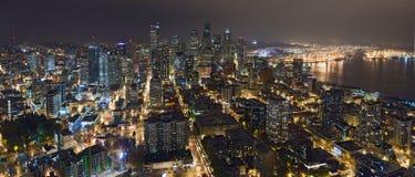Het panorama van Seattle Stock Fotografie