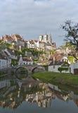 Het Panorama van Semur Royalty-vrije Stock Afbeeldingen