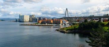 Het panorama van Stavanger Royalty-vrije Stock Foto's