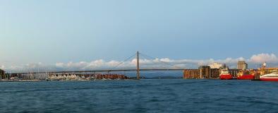 Het panorama van Stavanger Stock Fotografie