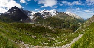 Het panorama van Sustenpas Stock Foto's