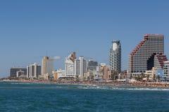 Het panorama van Tel Aviv stock foto's