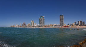 Het panorama van Tel Aviv Royalty-vrije Stock Fotografie