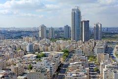Het panorama van Tel Aviv royalty-vrije stock afbeelding