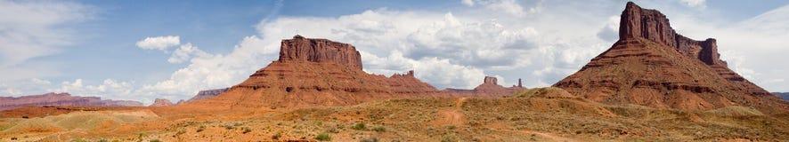 Het Panorama van Valey van het monument Stock Afbeelding