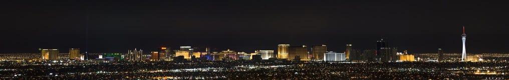 Het Panorama van Vegas van Las stock foto's