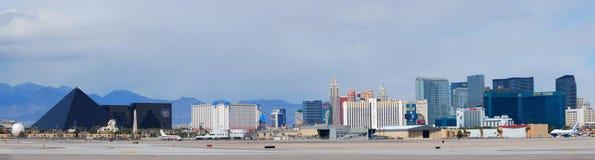 Het panorama van Vegas van Las Stock Afbeelding
