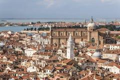 Het Panorama van Venetië Royalty-vrije Stock Foto's