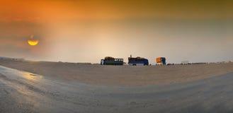 Het panoramische beeld van Jeddah van het zuiden Stock Foto's