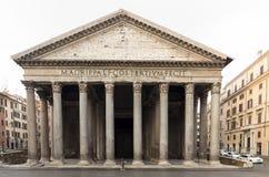 Het Pantheon - de oudste kerk in Rome royalty-vrije stock foto's