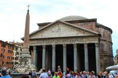 Het Pantheon op 26 september, 2012 in Rome, Stock Afbeelding