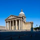 Het pantheon, in Parijs stock foto