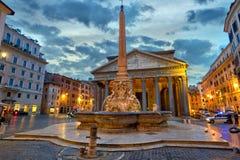 Het Pantheon, Roman tempel van alle goden Royalty-vrije Stock Foto