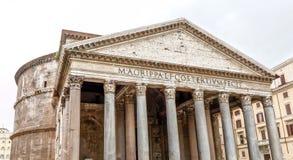 Het Pantheon, Rome stock afbeeldingen