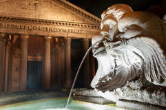 Het pantheon in Rome, Italië. Royalty-vrije Stock Foto's