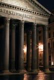 Het Pantheon van IL in Rome Stock Foto's
