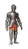 Het pantserkostuum van de ridder Royalty-vrije Stock Afbeeldingen