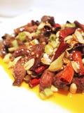 Het paorundvlees van Kung dobbelt Stock Fotografie