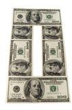 Het papiergeld Royalty-vrije Stock Afbeeldingen