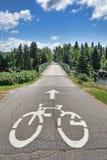 Het paradijs van Cycler Stock Afbeelding
