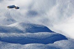 Het paradijs van de de wintersport Stock Afbeelding
