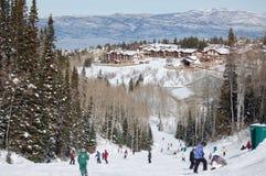 Het Paradijs van de winter Stock Afbeelding
