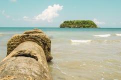Het paradijs van het eiland Stock Fotografie