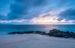 Het paradijs van Mauritius stock foto's