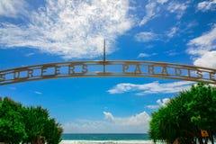Het Paradijs van Surfers, Queensland, Australië Stock Afbeeldingen