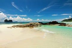 het paradijseiland in trang Thailand Royalty-vrije Stock Foto