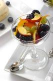 Het Parfait van het fruit Stock Foto's
