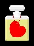 Het Parfum van de valentijnskaart Stock Foto's