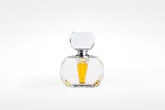 Het parfumfles van het besnoeiingsglas Stock Afbeelding
