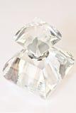 Het parfumfles van het kristal Stock Afbeelding