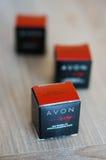Het parfumsteekproeven van Avon Stock Foto
